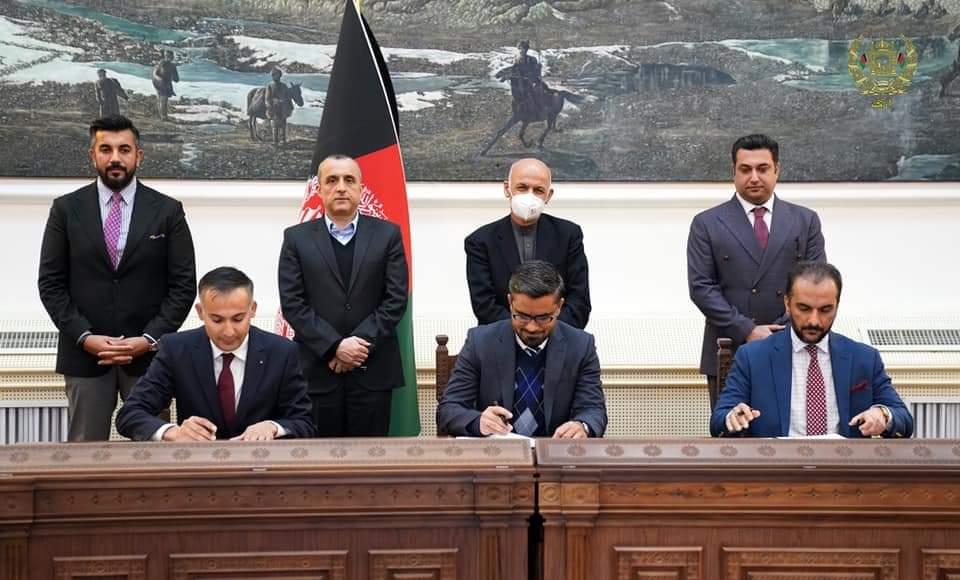 افغان دولت له زیمنس انرژي کمپنۍ سره د همکارۍ هوکړه لیک لاسلیک کړ.