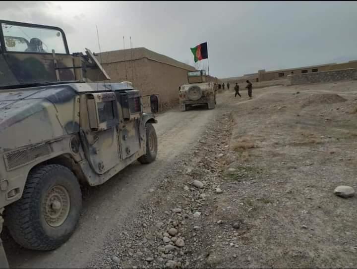 افغان ځواکونو لوګر کې ۱۸ طالبان وژلي