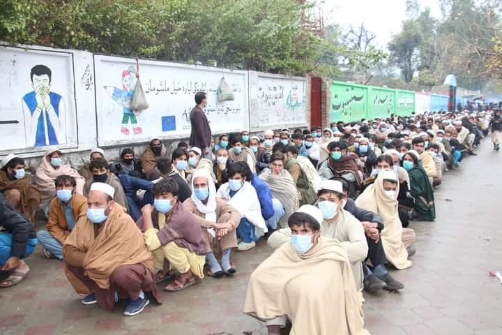 ننګرهار کې د پاکستان ویزې لګولو چارې په منظم ډول پر مخ روانې دي.