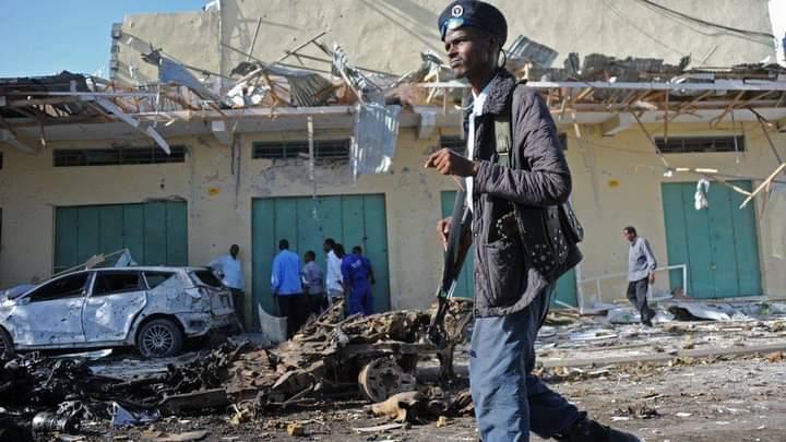 په سومالیا کې دځانمرګي برید له امله لس تنه وژل شوي دي