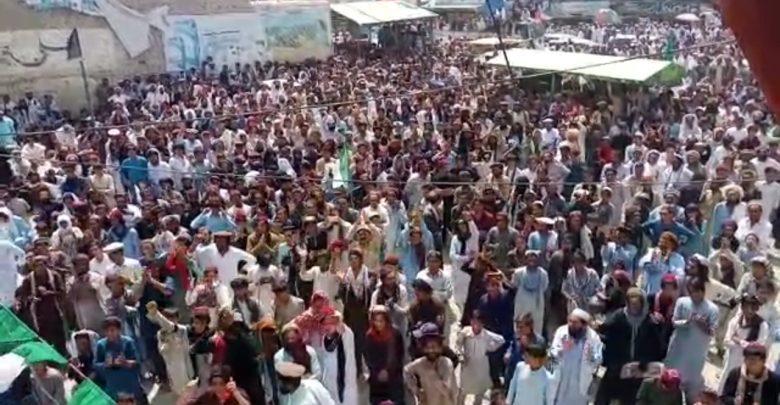 شمالي وزیرستان کې د پاکستان د پوځ خلاف لاریون وشو