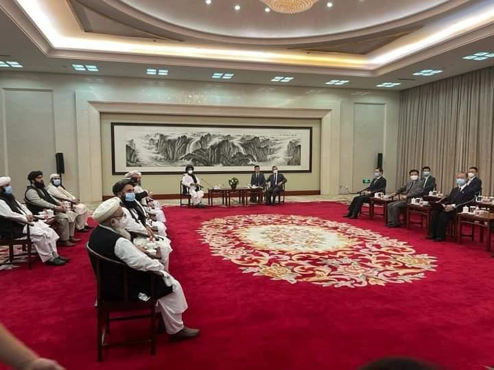چین طالبانو ته تریخ ځواب ورکړی