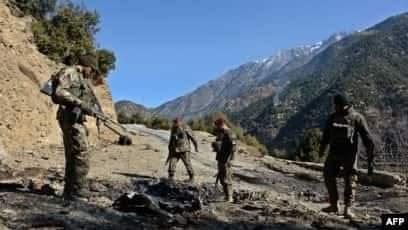 سېلاب قول اردو: د کونړ چپې دره کې یې تر ۲۱ زیات وسلهوال طالبان وژلي