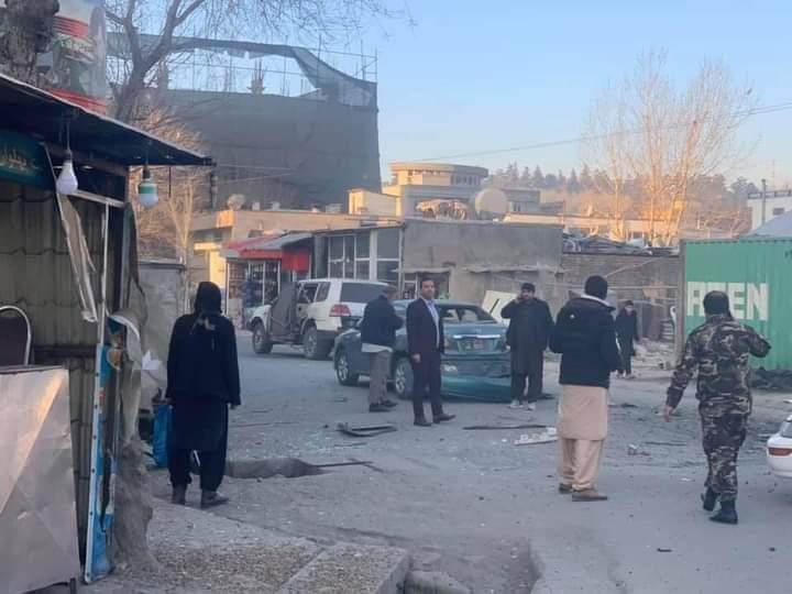 کابل کې د مقناطیسي ماین چاودنه شوې.