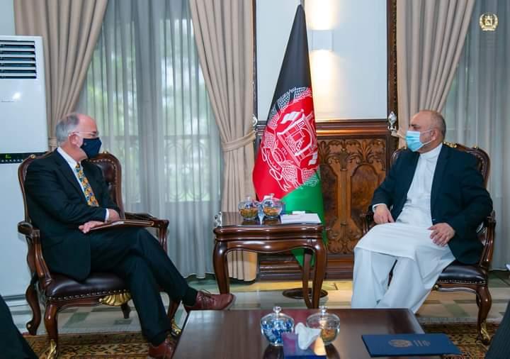امریکا: افغان حکومت سره له همکاریو مخ نه ګرځوو