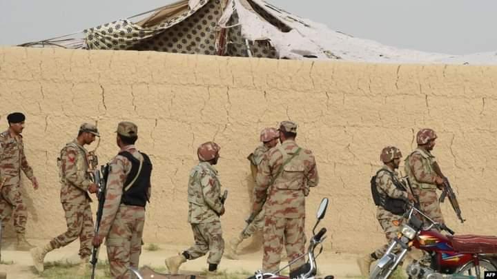 یو وسله والو برید کې څلور پاکستاني سرتېري وژل شوي.