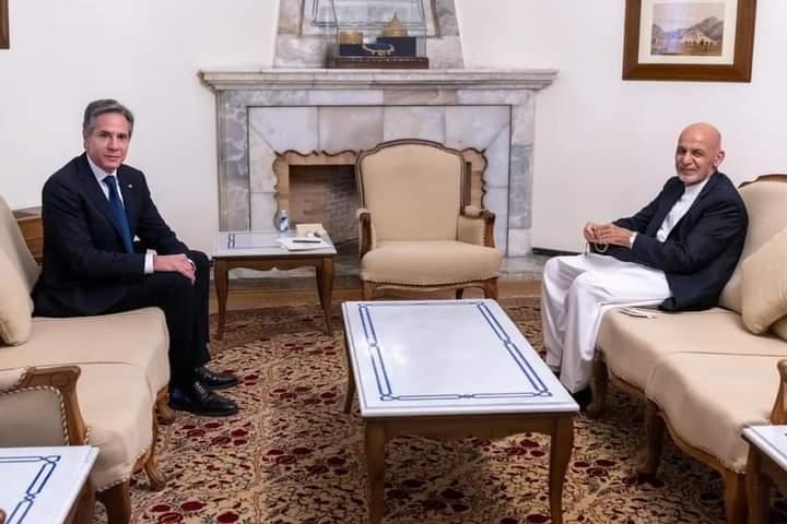 بلېنکن: امریکا له افغان دولت او خلکو سره خپلو تعهداتو ته ژمنه ده.